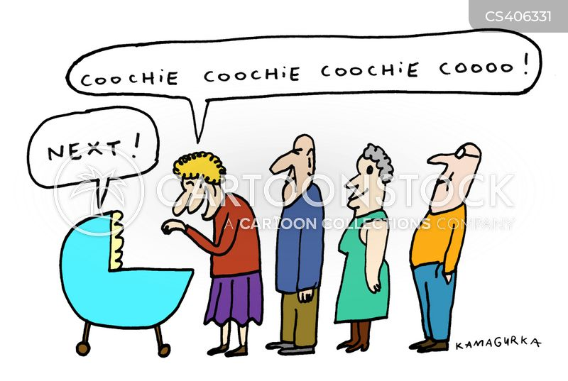 cooing cartoon