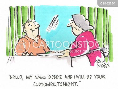food services cartoon