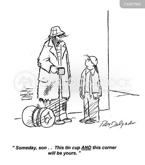 tin cups cartoon