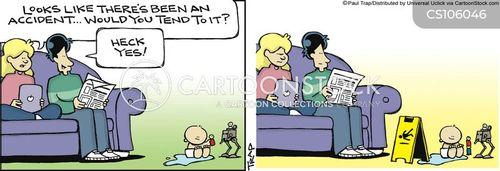 first time parent cartoon