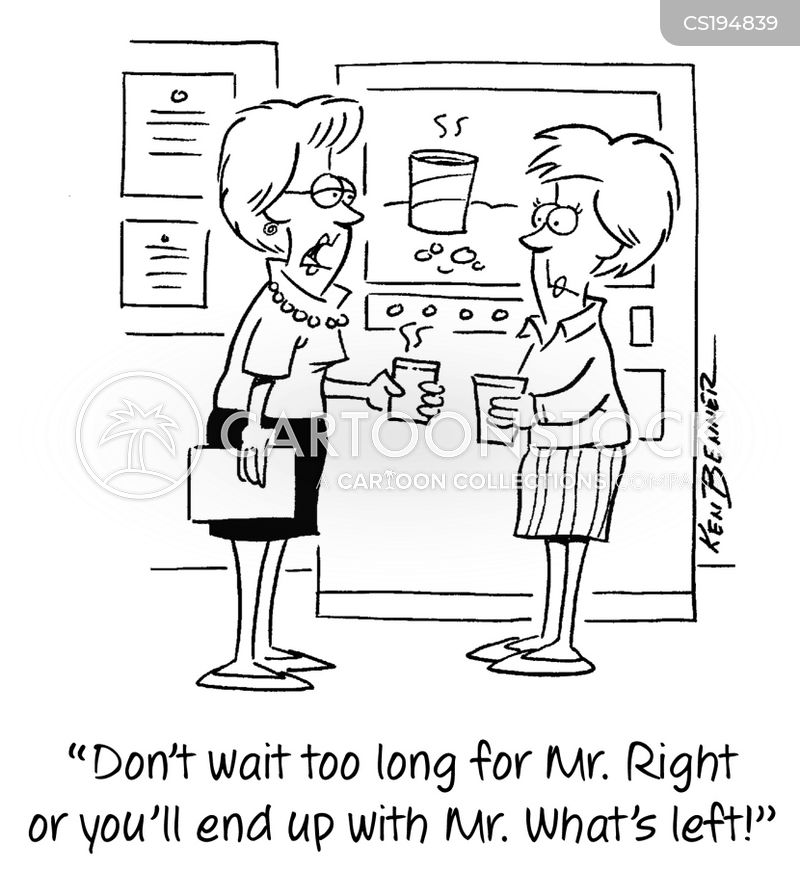 singles market cartoon