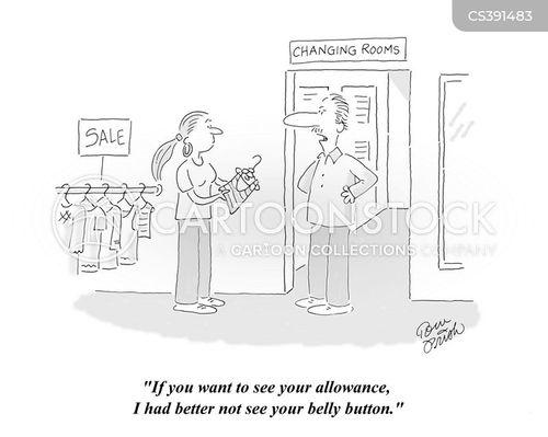 clothiers cartoon