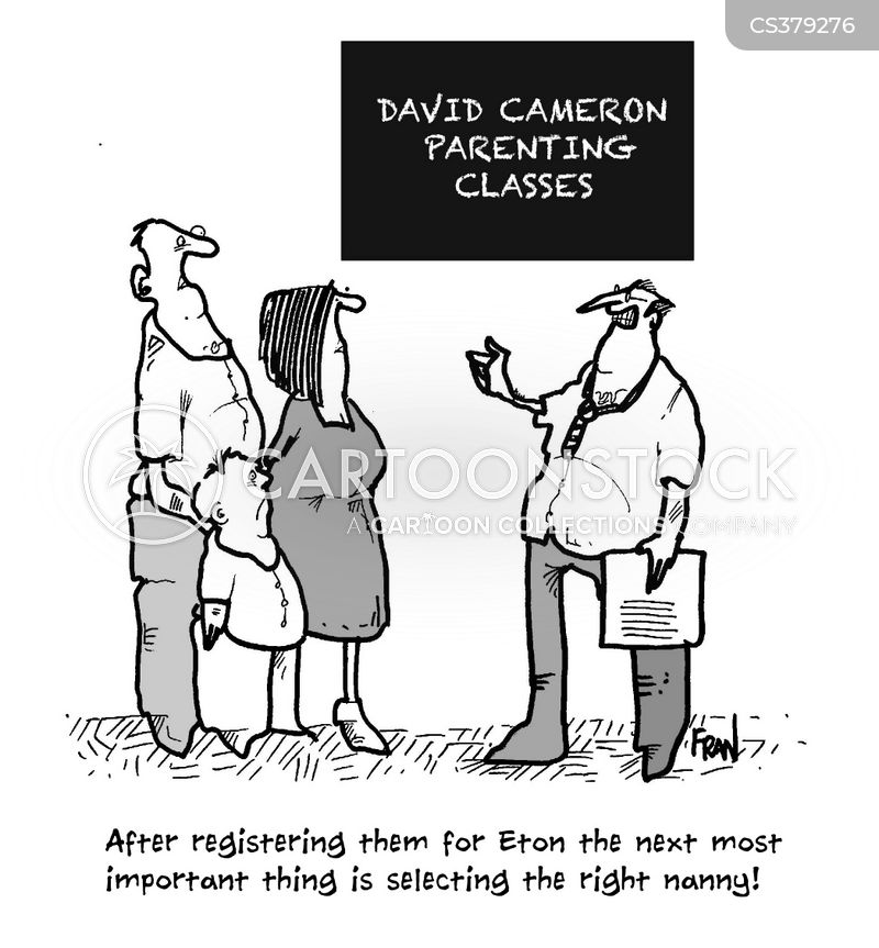 parenting classes cartoon