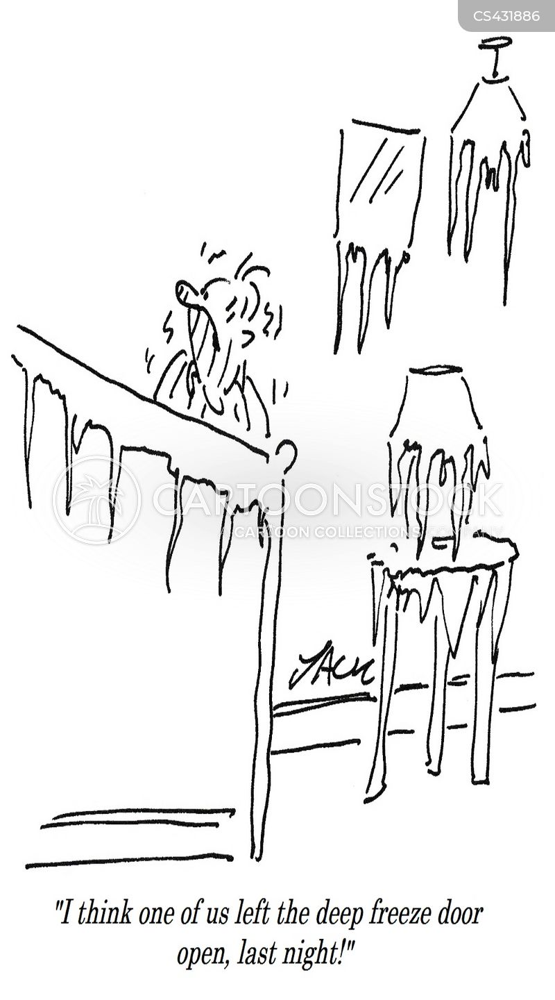 Deep Freeze Cartoons And Comics Funny Pictures From