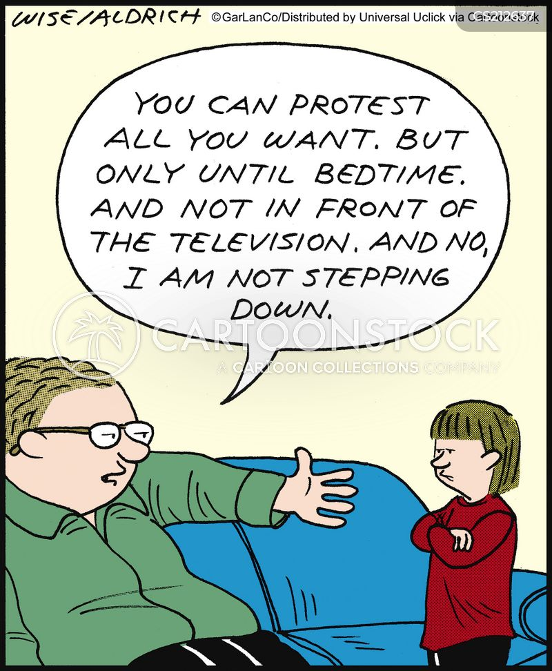 family problem cartoon