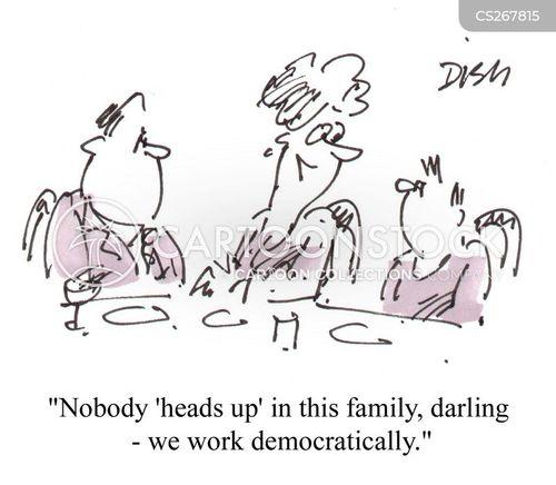 Family Meetings Cartoon 5 Of 7