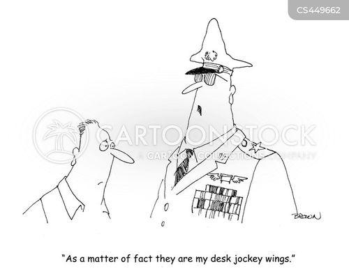desk jockeys cartoon