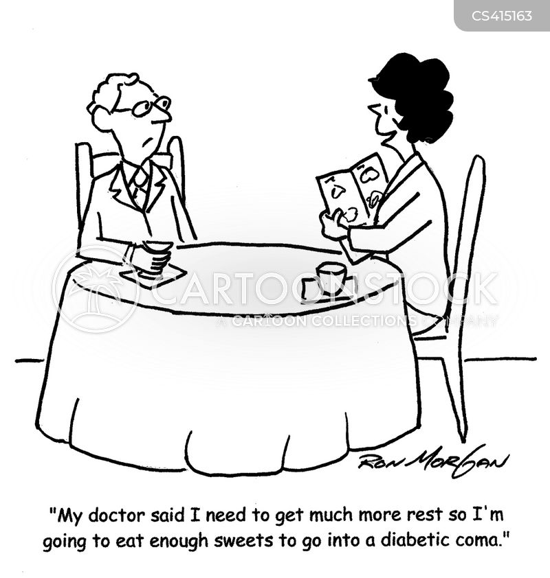 Diabetic Comas Cartoons And Comics Funny Pictures From