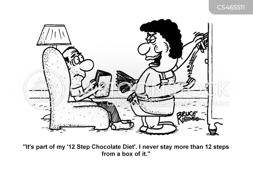 box of chocolate cartoon