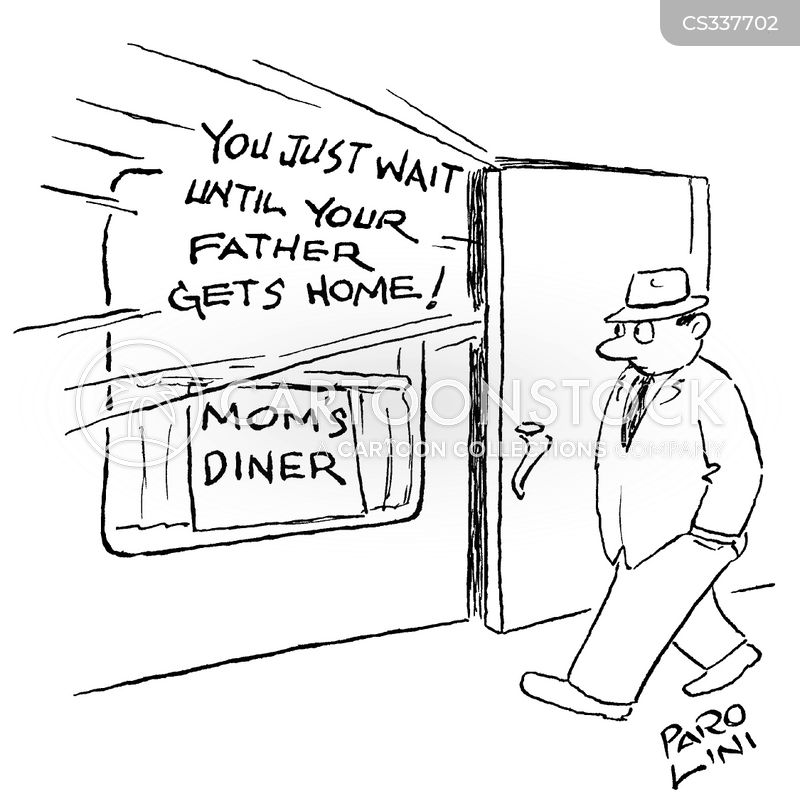 wait until your father gets home cartoon