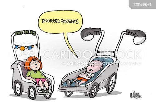 family breakdown cartoon