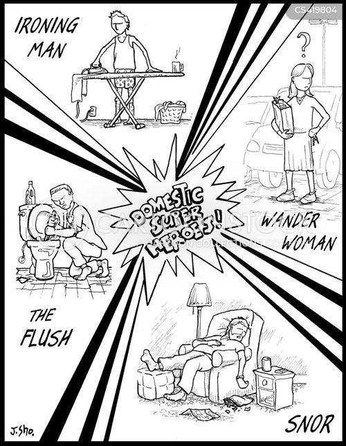 ironing boards cartoon