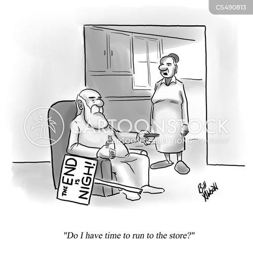end times cartoon