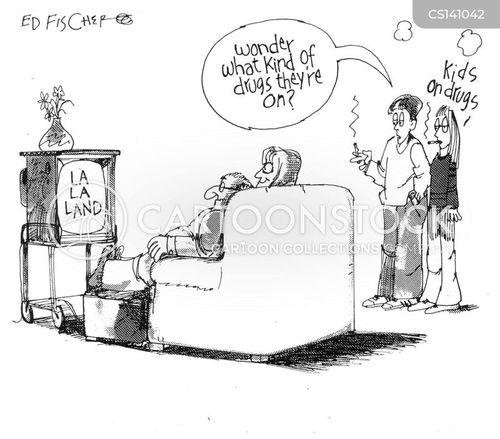 la la land cartoon