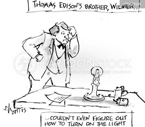 edison cartoon