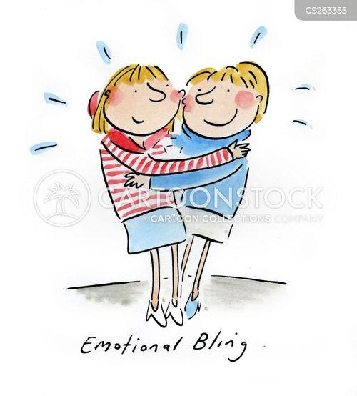 emotional attachment cartoon
