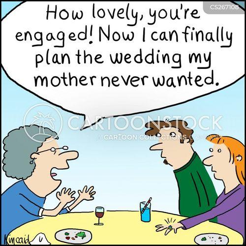 wedding planners cartoon