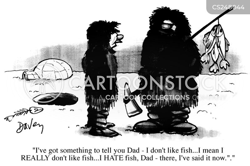 fathers and son cartoon
