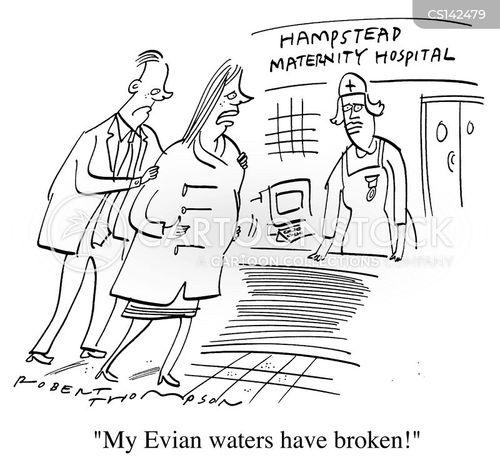 mineral waters cartoon