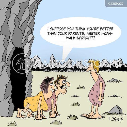 bipeds cartoon