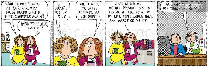 embarrassing mom cartoon