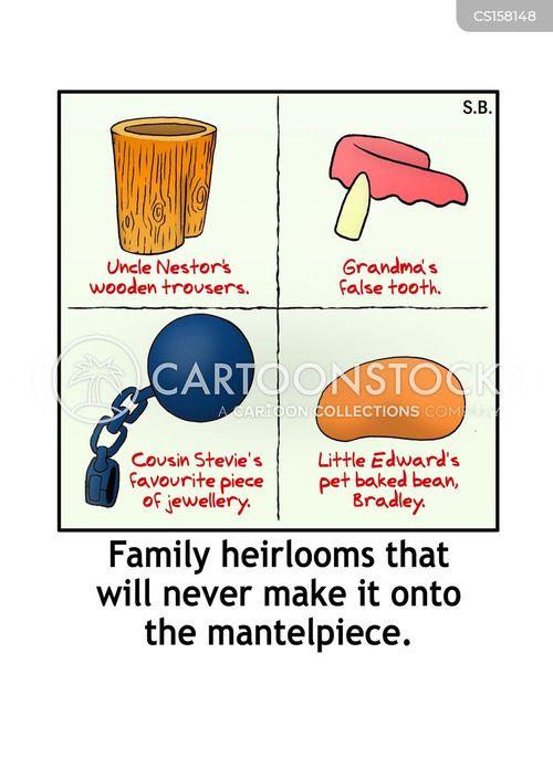 mantelpieces cartoon