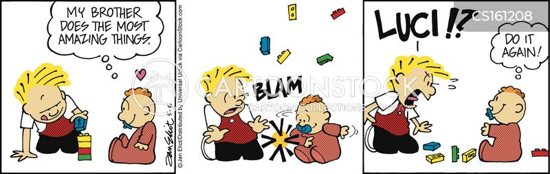 sibling rivals cartoon