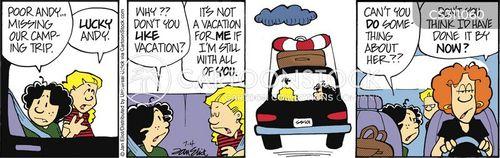 grumpy teens cartoon