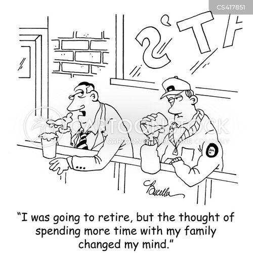avoidance tactic cartoon