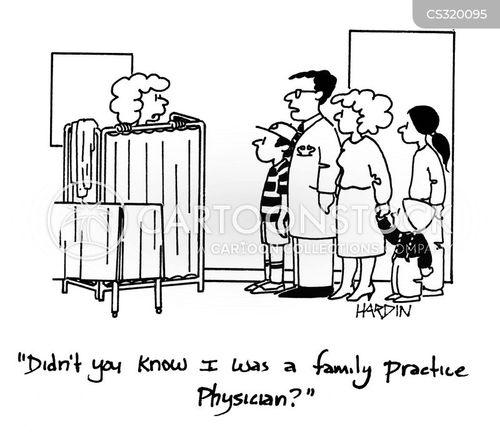 family practice physician cartoon
