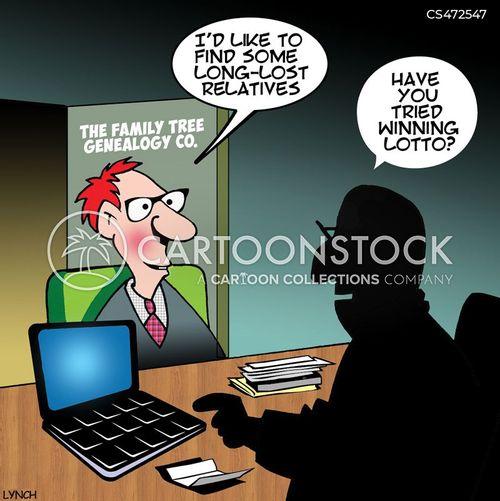family-tree cartoon