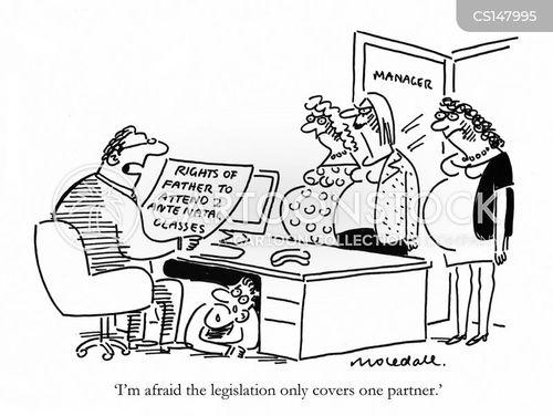 legal right cartoon