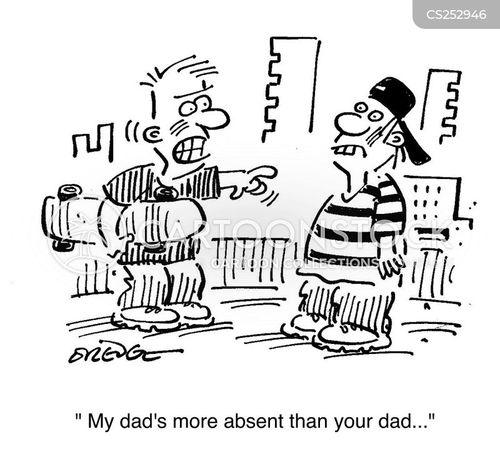 absentees cartoon