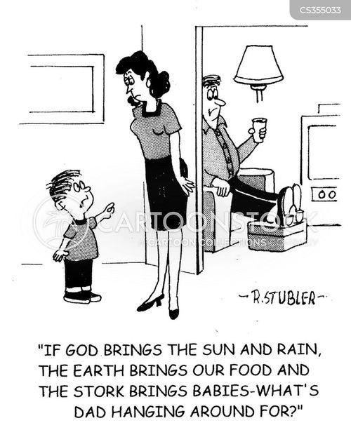 bread earner cartoon
