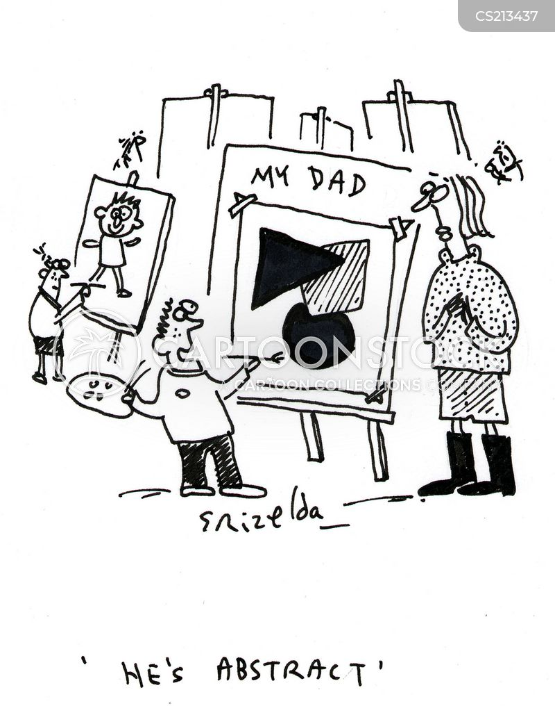 absent father cartoon