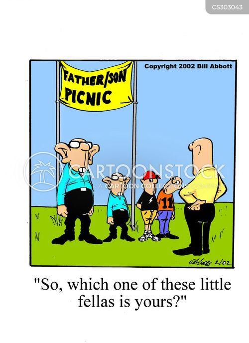 family resemblences cartoon