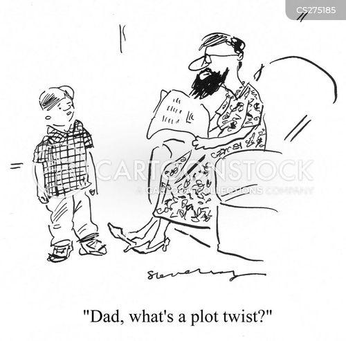 plot twists cartoon