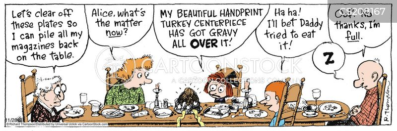 thanks giving cartoon