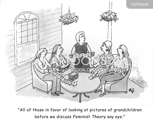 book clubs cartoon