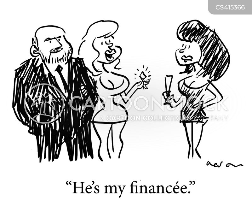 fiancees cartoon