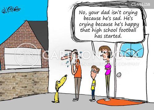 gridiron football cartoon