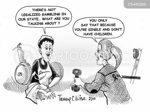 american states cartoon