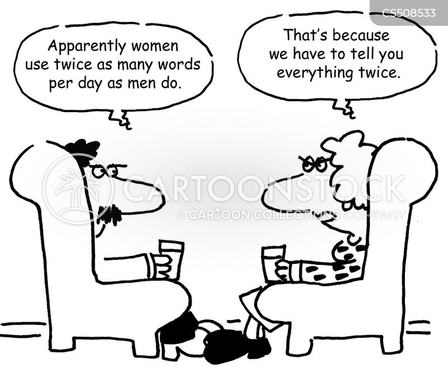 gender divide cartoon