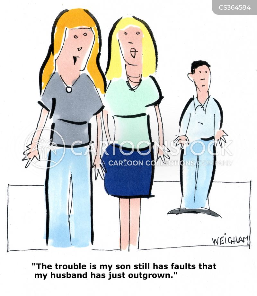 family trait cartoon