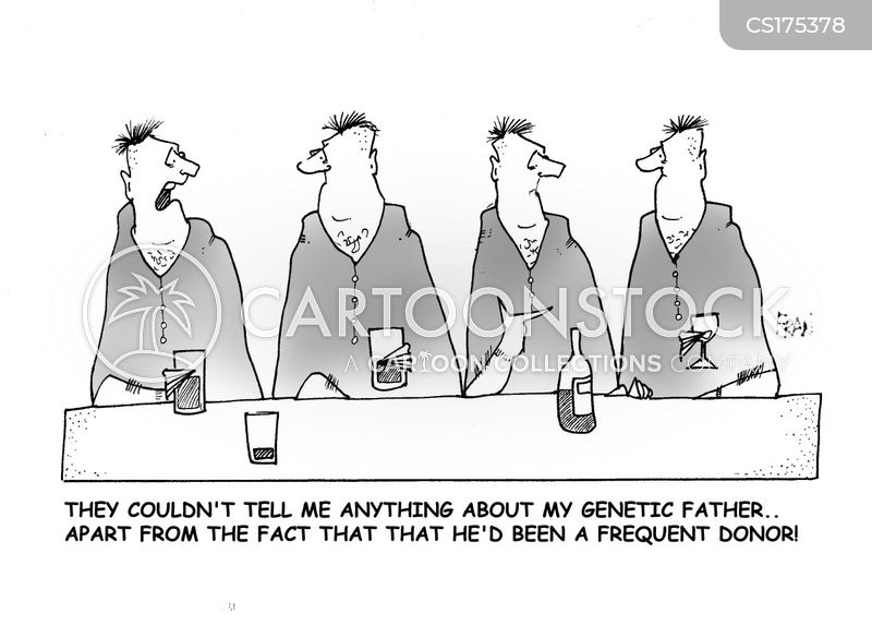 sperm donors cartoon