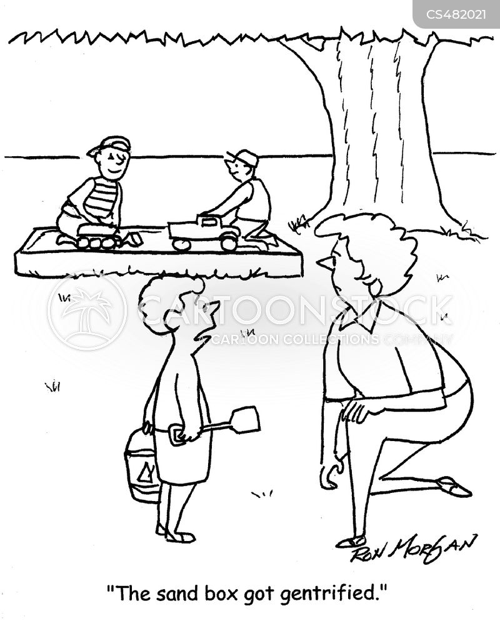 gentrified cartoon