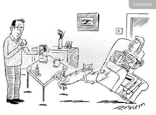 superglue cartoon