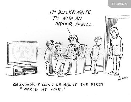 aerials cartoon