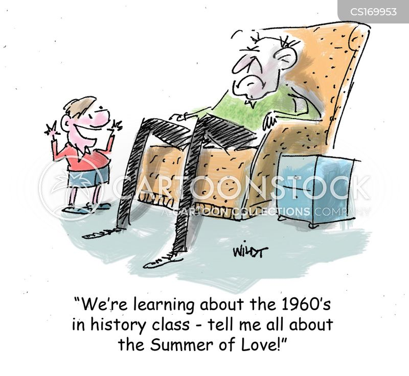 Summer Of Love Cartoons and Comics - funny pictures from CartoonStock