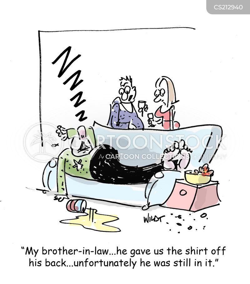 shirt off your back cartoon